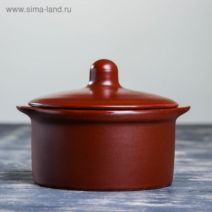 """Кастрюля керамическая """"Шёлк"""" 0,4 л"""