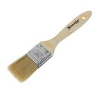 Кисть плоская Matrix Евро, 35 мм, ручка дерево, натуральная щетина