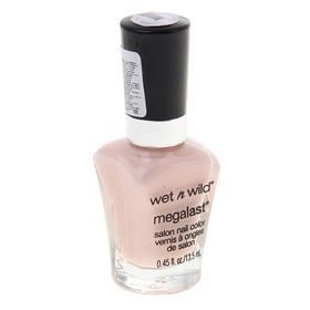 Ак для ногтей Wet n Wild, Megalast salon nail color, цвет sugar coat