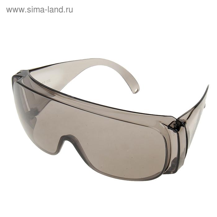 """Очки защитные """"Сибртех"""", открытого типа, затемненные, ударопрочный материал"""
