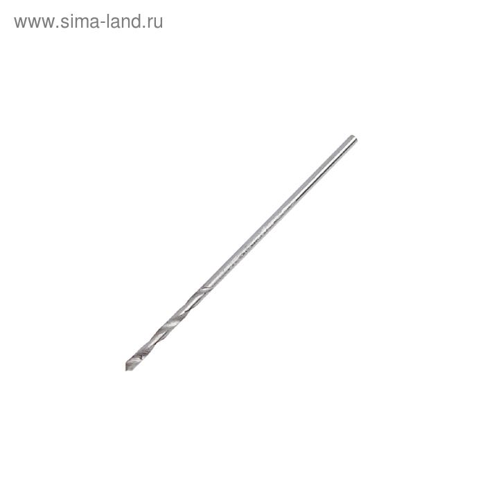 Сверло по металлу MATRIX, 1.0 мм, полированное, 10 шт, цилиндрический хвостовик