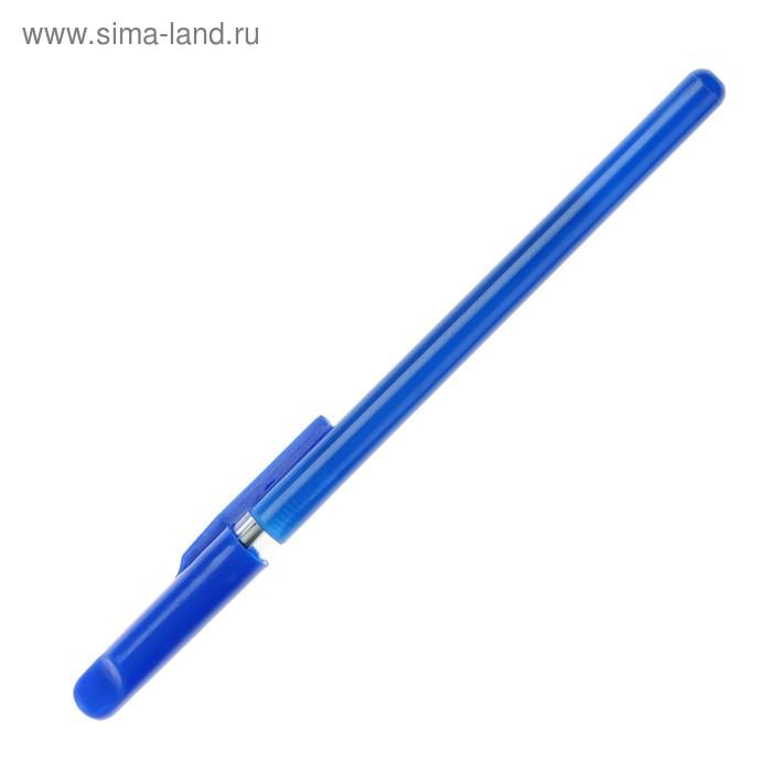 Набор ручек шариковых 10шт корпус синий с прозрачным держателем стержень синий 0,5мм Luazon