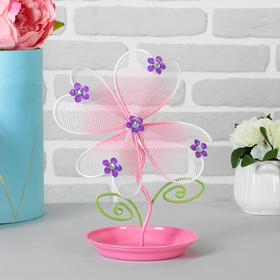 """Подставка для украшений """"Цветок"""", четыре лепестка"""