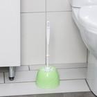 Ерш для унитаза с подставкой Aqua, цвет салатовый