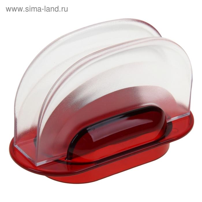 """Салфетница """"Санти"""",цвет красный"""