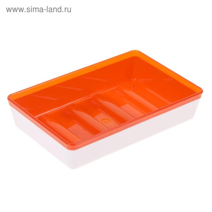Мыльница Spacy, цвет апельсин