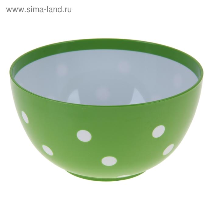 "Салатник 2 л ""Маруся"", цвет луговой-белый"