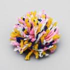 """Игрушка для кошек """"Радужный шар"""", 4 см  микс цветов"""