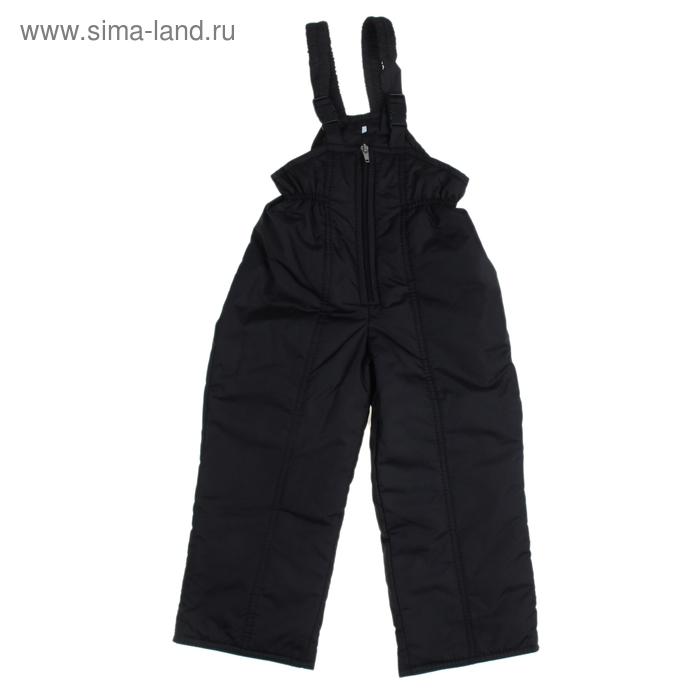 Полукомбинезон для мальчика 50300 рост 98-104 (26), цвет черный