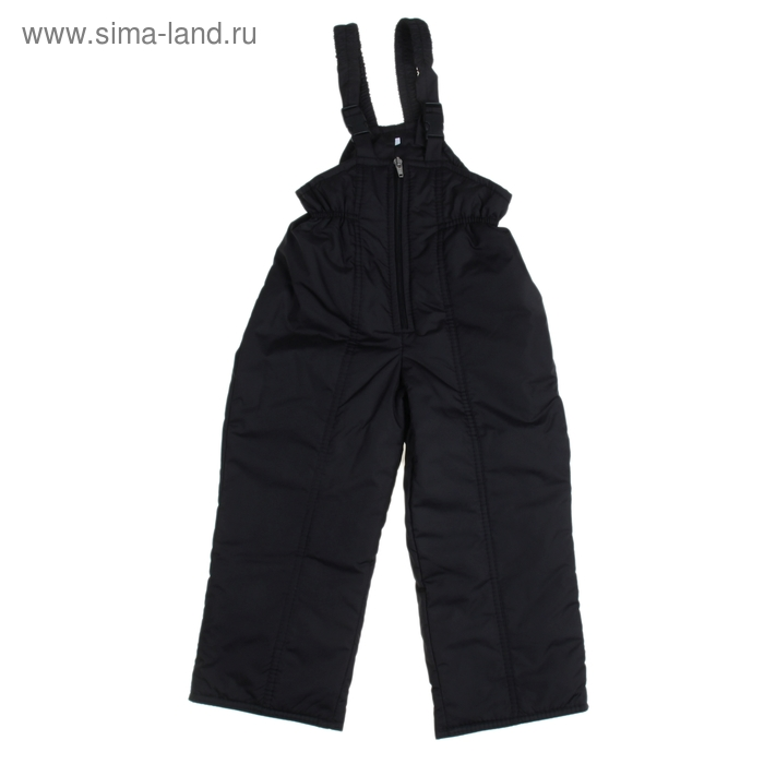 Полукомбинезон для мальчика 50301 рост 104-110 (28), цвет черный