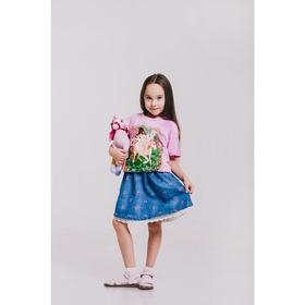 Футболка детская Collorista 3D Fairytale, возраст 6-8 лет, рост 122-134 см, цвет розовый