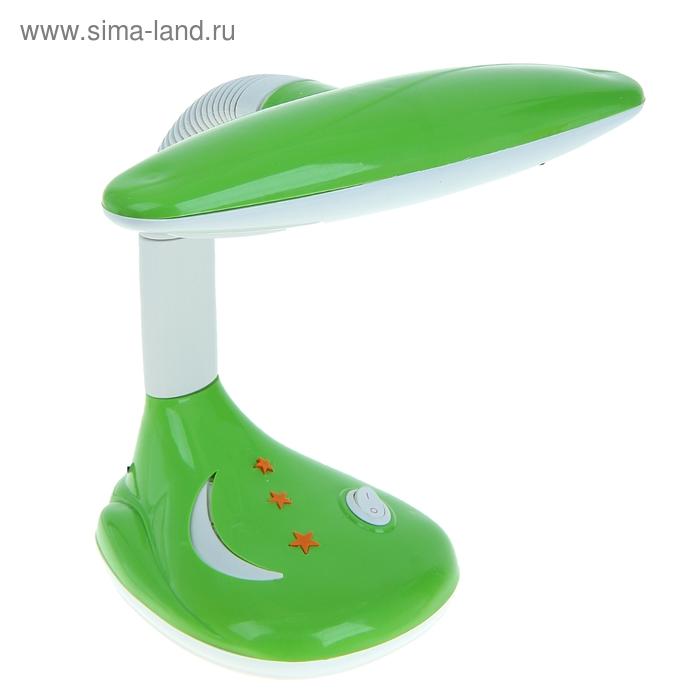 """Лампа настольная LED """"Звезды с месяцем"""" с выкл. зелёная"""