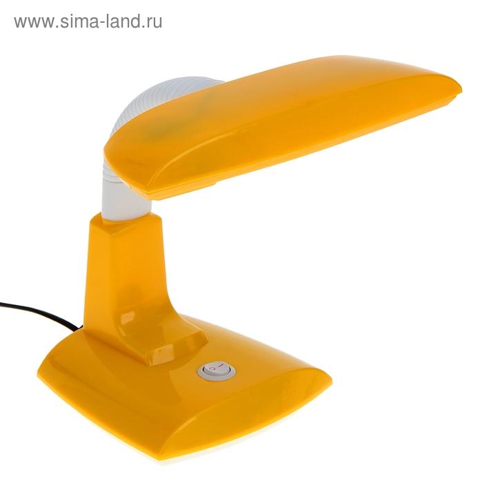 """Лампа настольная """"Уточка"""" с выкл. жёлтая"""