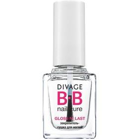 Закрепитель-сушка для ногтей Divage Bb gloss n`last
