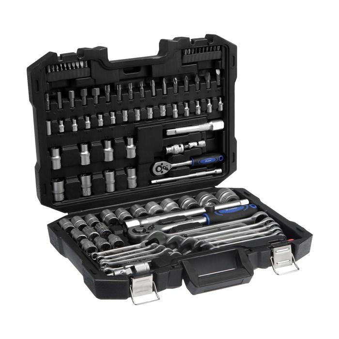 Набор инструмента TUNDRA premium, универсальный в кейсе 100 предметов