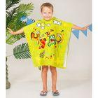 """Детское полотенце-пончо с капюшоном """"Collorista"""" Чудо 60 х 120 см, хлопок 280 гр/м2"""