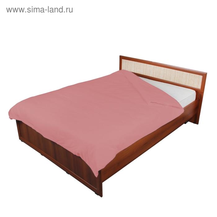 Пододеяльник 2 сп., размер 175х216 см, 142 г/м2, цвет светло-розовый