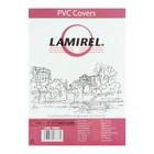 Обложки 100шт Lamirel Transparent A4, PVC, прозрачные, 200мкм