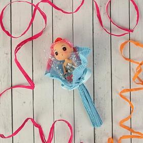 Букет из игрушек 'Кокетка' голубой Ош
