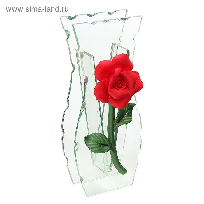 "Ваза ""Лепнина"" роза"