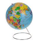 Глобус сувенирный на металлической подставке, d=25 см, h=38 см, голубой, русский язык