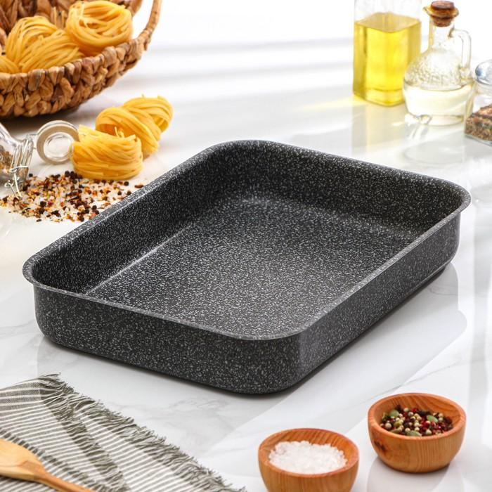 Противень 27,5х36х6,2 см Onyx
