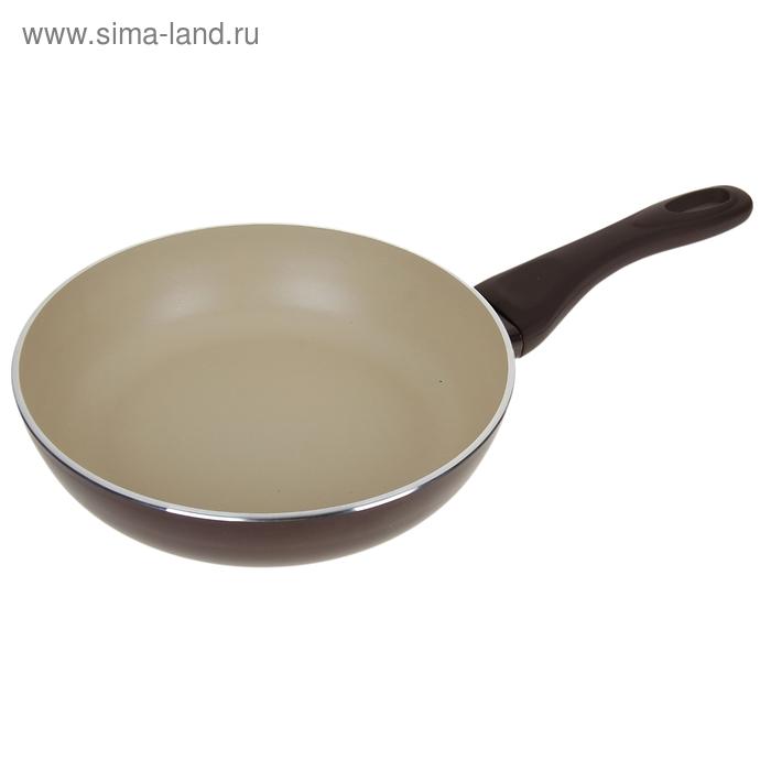 Сковорода глубокая d=26 см Dark Chocolate