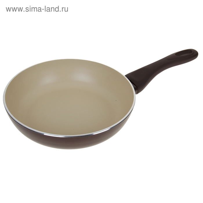 Сковорода глубокая d=24 см Dark Chocolate