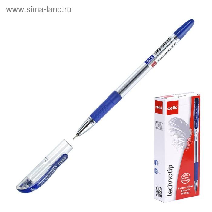 Ручка шариковая Cello TECHNOTIP, стержень синий, узел 0.6 мм