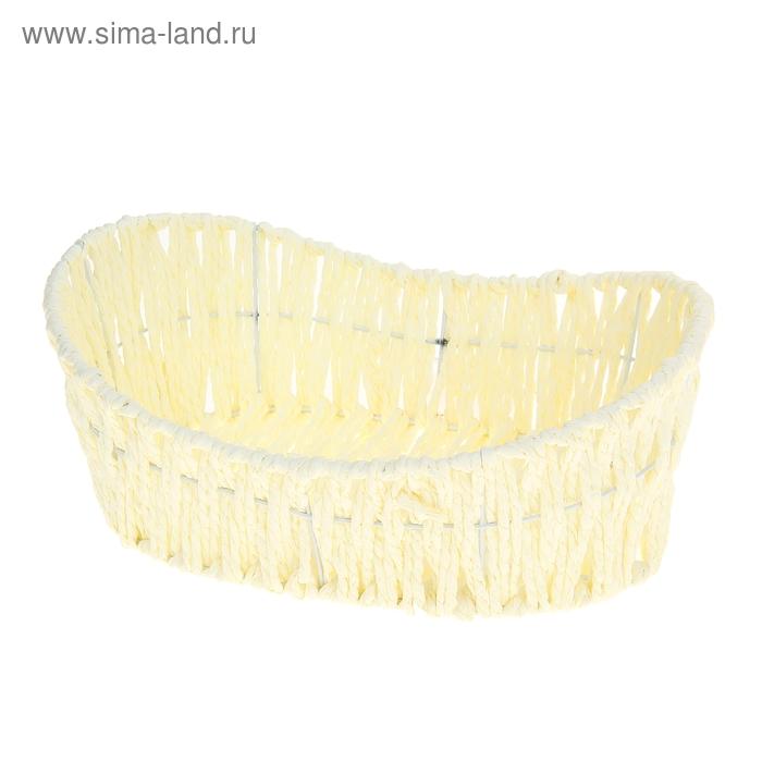 """Корзинка для фруктов и хлеба 28х18х11 см """"Плетёная"""", цвет МИКС"""