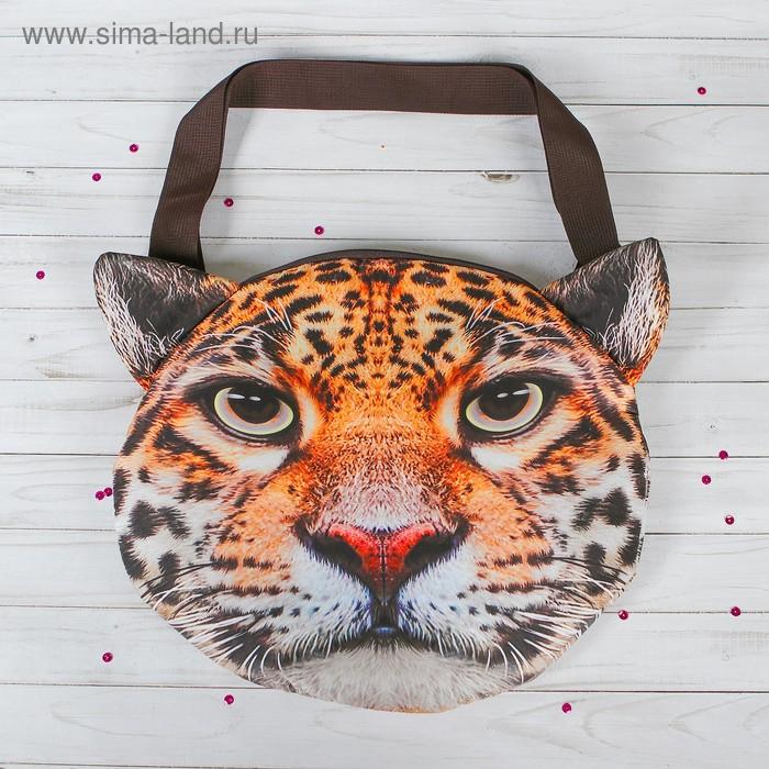 """Мягкая сумка """"Леопард"""""""