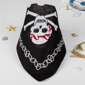 """Бандана череп """"Пират"""""""