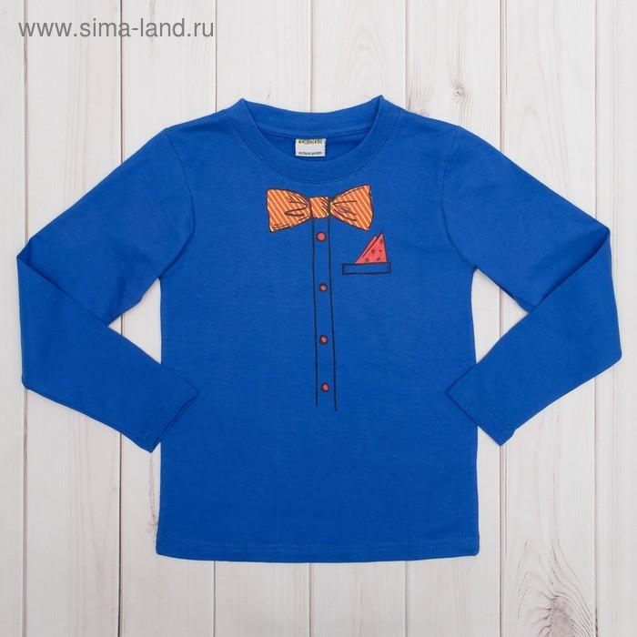 """Джемпер детский """"Collorista"""" В рубашке, рост 110-116см (32), 5-6 лет, 100% хлопок трикотаж"""