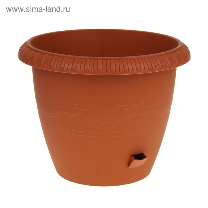Горшок для цветов 20,5 л Le Jardin, d=40 см, цвет терракот