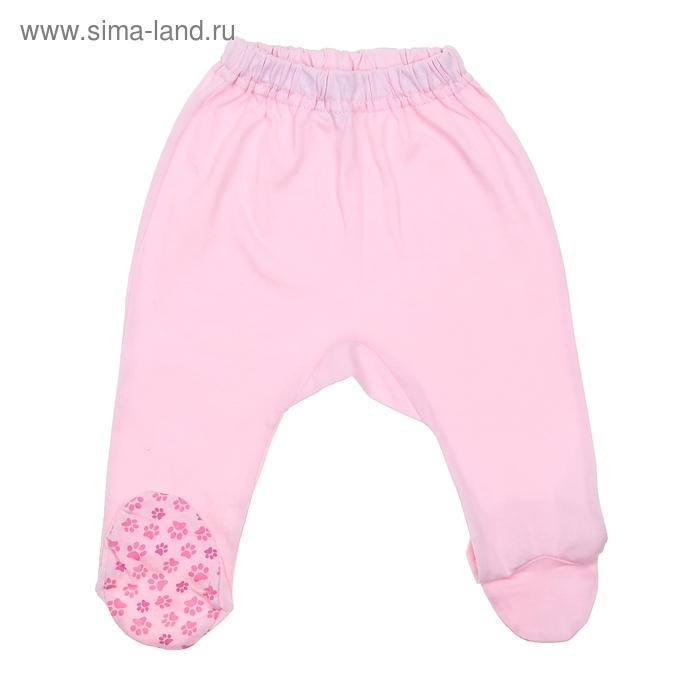 Ползунки, рост 80 см (52), цвет розовый  CAN 7206 (01)_М