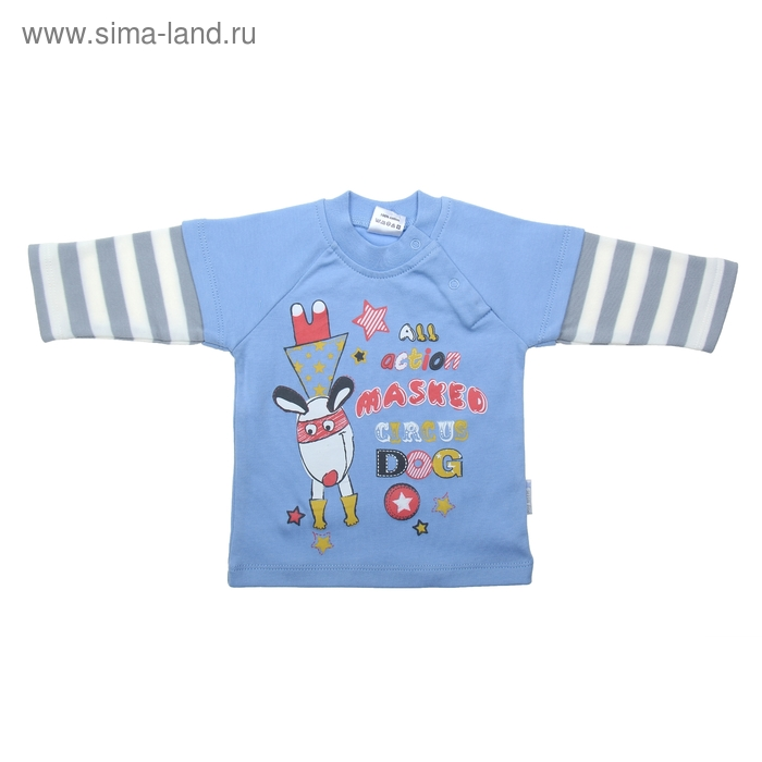 Джемпер для мальчика рост 68 (44), цвет голубой,   CWN 6968_М