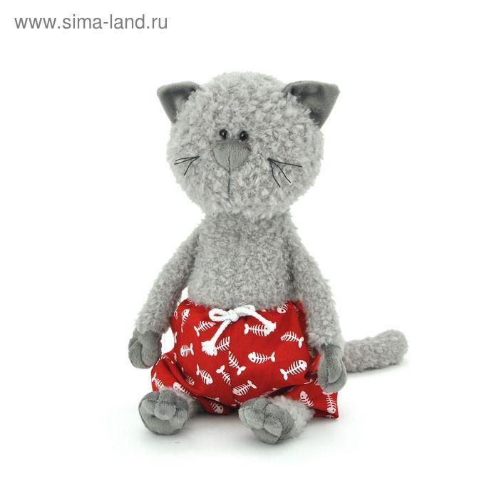 Мягкая игрушка «Кот Обормот в трусах»