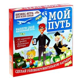 """Игра экономическая в торговлю """"Мой путь"""""""