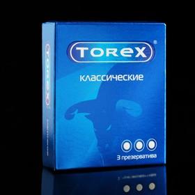 Презервативы «Torex» классические, 3 шт Ош