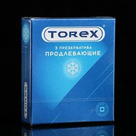 Презервативы «Torex» Продлевающие, 3 шт Ош