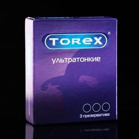 Презервативы «Torex» ультратонкие, 3 шт Ош