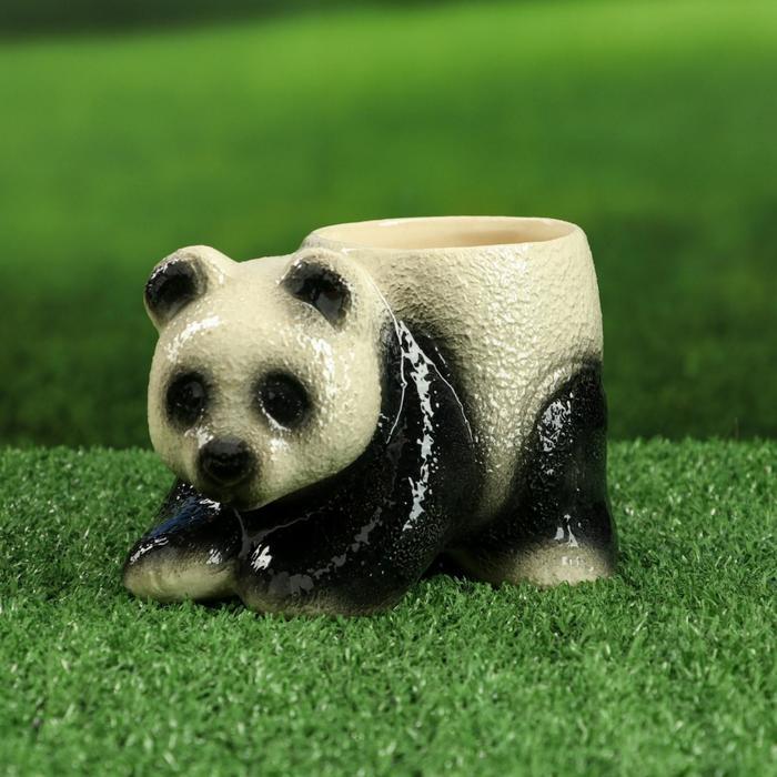 "Фигурное кашпо ""Панда"" 0,5 л"