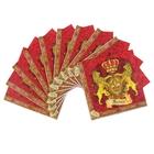 """Набор салфеток для декупажа (10 штук) """"Королевский"""""""
