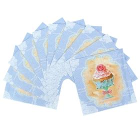 Набор салфеток для декупажа (10 штук) 'Сладкая жизнь' Ош