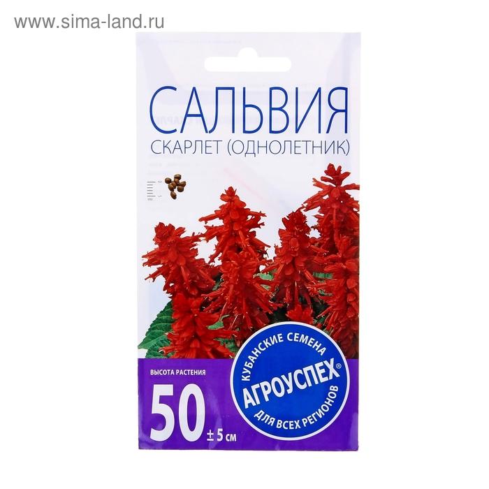 Семена цветов Сальвия Скарлет, О, 0,1г