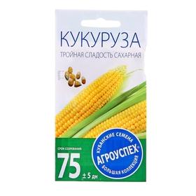 Семена Кукуруза Тройная сладость ранняя, 5г