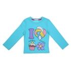 """Джемпер для девочки """"Smurfs"""", рост 116 (6 лет), цвет голубой"""