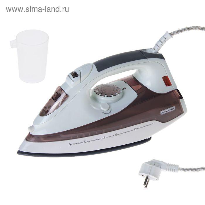 Утюг электрический Ладомир 75К с пароувлажнением, 2000Вт