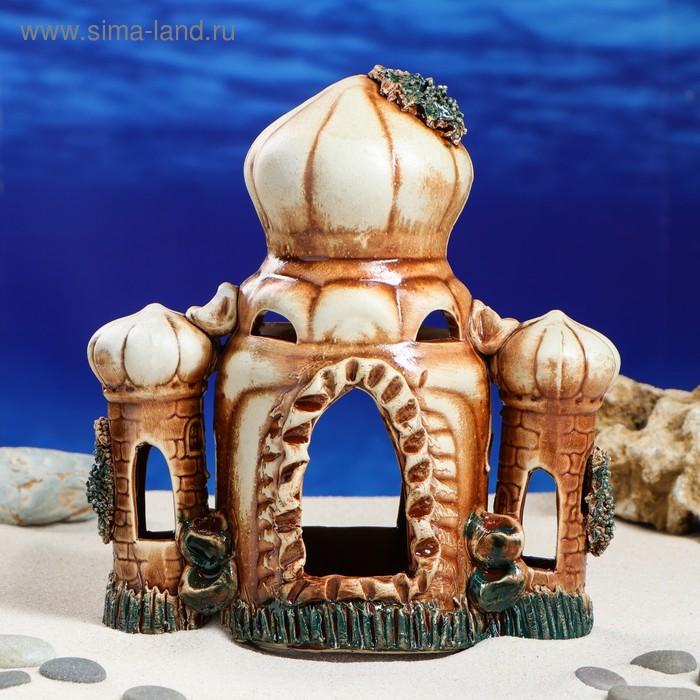 """Декорации для аквариума """"Восточный замок"""" микс"""