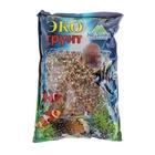 """Грунт для аквариума """"Галька реликтовая"""" №2 4-8 мм 3,5 кг r-0335"""